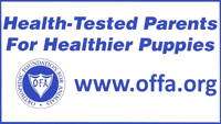 OFFA.org health tested dog parents